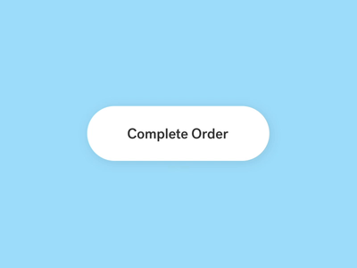 Order Complete Confirmation branding microinteraction illustration motion graphics after effects microinteractions ae animation ui ux