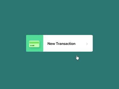 New Transaction Hover