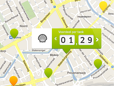 Jip benzine app jip benzine app map tooltip shell euro tank navicon