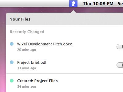 OS-X app in progress