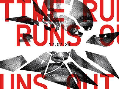 TENET identity colour branding concept poster website type minimal layout design