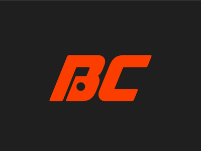 BC—Pro logo design ball flag icon branding golfing concept logo golf