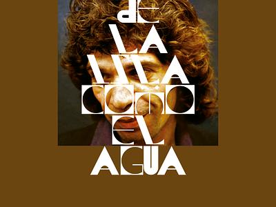 De La Isla branding typography concept website poster type grid minimal layout design