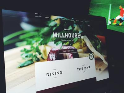 Taking work home. website design concept scrolling js typographic minimal ios7 app responsive