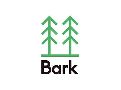 Bark Logo logo design identity urban sustainable landscaping