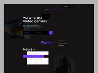 Gaming site concept.