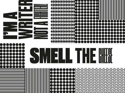 For a friend. font druk textures pattern grid identity layout design branding