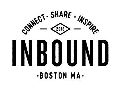 even more INBOUND stuff! shirt inbound boston texture typography logo