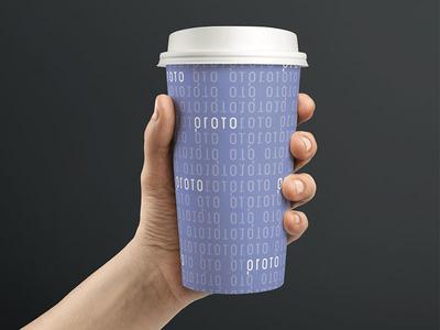 Proto Pattern real estate tech pattern branding logo