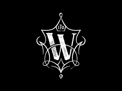 The Whitney Hotel boston beacon hill logo crest typography illustraion branding brand hospitality