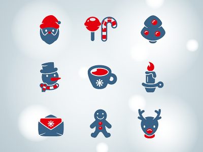 Xmas icons icons icon ui christmas holidays stock winter vector pictogram