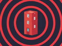 Apartment Block Illustration