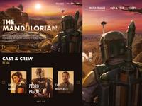 The Mandalorian Landing Page