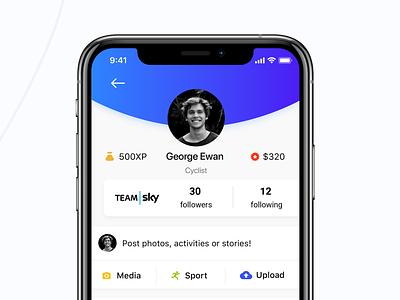 Sporty UI/UX Design Sport Application Case Study watch applewatch apple watchos webdesign web ios ui design mobile ux ui