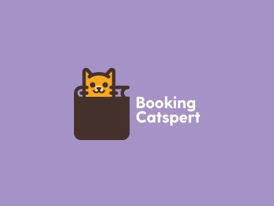 Booking Catspert booking catspert sign book kitty cat identity branding logotype logo