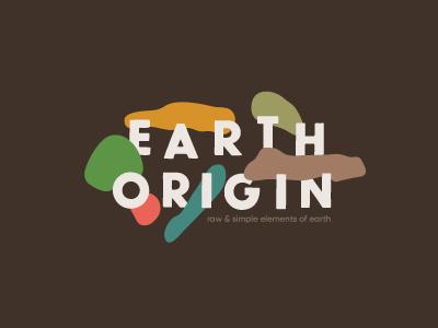 Earth Origin origin elements earth shampoo cream identity branding logo