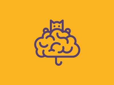 Pisici Pe Creier creier pisica pisici brain cat mark symbol logo
