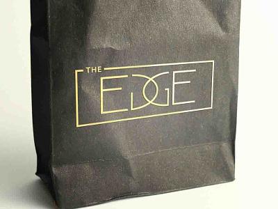 The Edge Logo Design logo logo design logo designer graphic design graphic designer product logo design salon logo hair salon logo