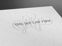 JKP Law Firm Logo Design