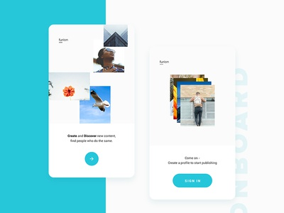 Onboarding Photos App ux mobile app ui flat clean minimal welcome sign in sign up onboarding onboard debut