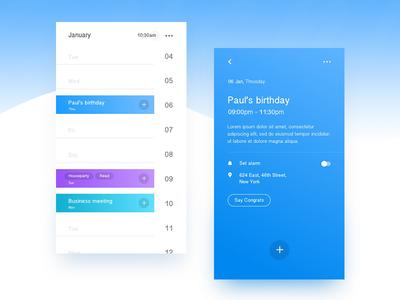 Events App invites ux design ui design design app design ios ux ui mobile app calendar events
