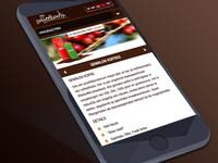 Responsive website CoffeeRoots