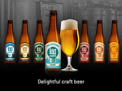 Beer labels Stadsbrouwerij Eindhoven industrial modern stylish ambient characteristic logo eindhoven identity branding labels beer
