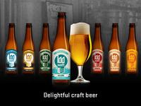 Beer labels Stadsbrouwerij Eindhoven