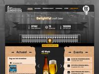 Website Stadsbrouwerij Eindhoven
