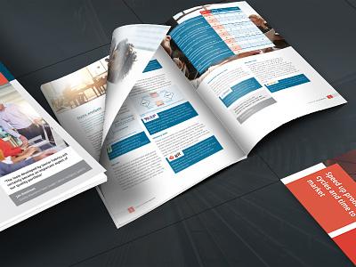 Vector Fabrics whitepaper series eindhoven identity branding vector illustrations infographic informative print design whitepapers