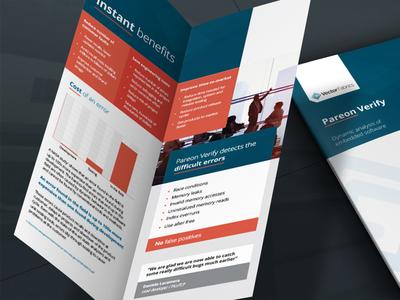 Vector Fabrics folder series infographic illustrations vector eindhoven identity branding informative print design folders