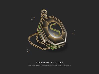 Slytherin's Locket locket slytherin wizarding world harrypotter