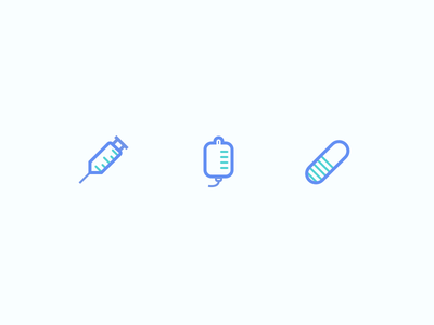 Medical Icons iconography visual design medical health icons