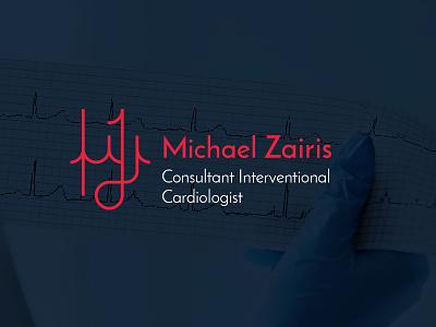 Michael Zairis | Consultant Interventional Cardiologist cardiologist cardio branding icon mark symbol logotype logo