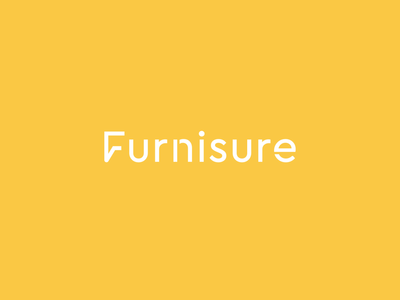 Furnisure animation motion online shop store table chair bureau commode chest of drawers furniture ukraine kharkiv new york boston san francisco mark icon emblem modern minimal flat shape logo designer logo design branding yellow