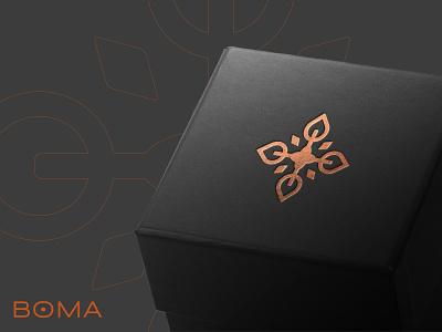 Boma Design decoration gold jewelry turkish brand identity branding logo design new york logo designer emblem symbol mascot icon mark authentic ukraine