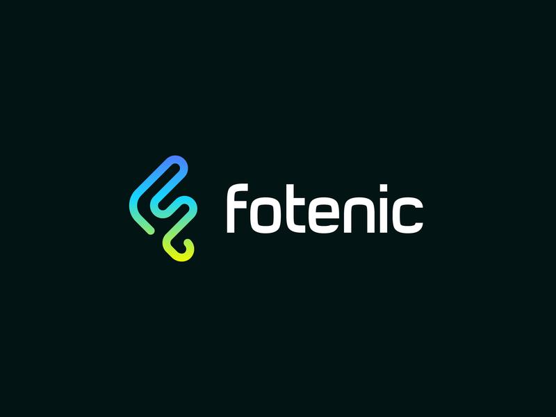 Fotenic / led lighting / logo design