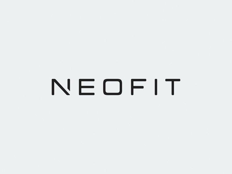 Neofit / fitness tool / logo wordmark