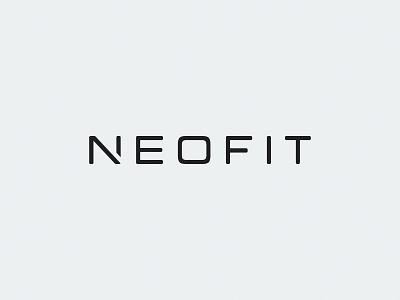 Neofit / fitness tool / logo wordmark minimal flat gym grey foam roller sport branding word logo wordmark n logo ukraine new york logo designer kharkov kharkiv sport tool fitness fitnes neo