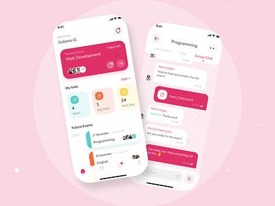 Time Management App | UI Concept time management app uiux ui