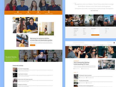 Landing page wireframe static blog post web design ui  ux design landing page ui homepage landing page