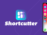 Shortcutter symbol icon mark logo s identity brand iphone ios app