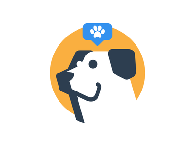 Boby 🐾 avatar design faithful best friend fun illustration face dog boby