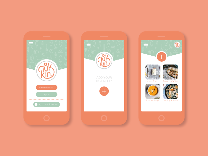 App UI by Aimee Sands