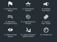 Hockeygame Iconset 02 By Artworkbean