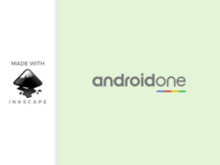 inkscape tutorial: making android one logo