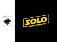 inkscape tutorial: making solo - star wars logo