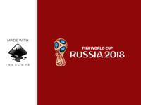inkscape tutorial: making FIFA world cup russia 2018 logo