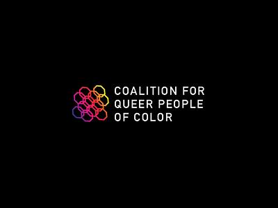 QPOC Logo typography icon organization branding logo