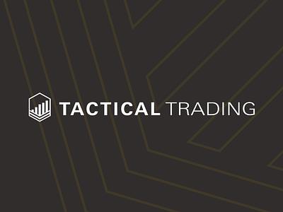 Logo for Tactical Trading illustration icon branding logo
